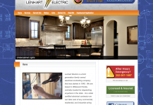 Lenhart Electric Website