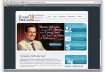 Bernie DeCastro Website