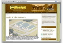 Curington Contracting Inc. Website