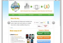 Lynx Buyback Website Redesign