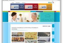 Franck's Pharmacy Website Redesign