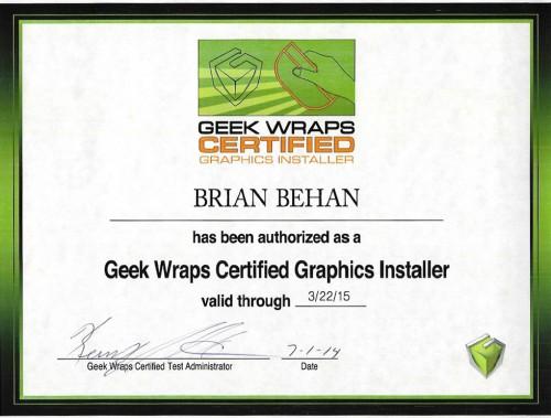 GeekWrapCertified