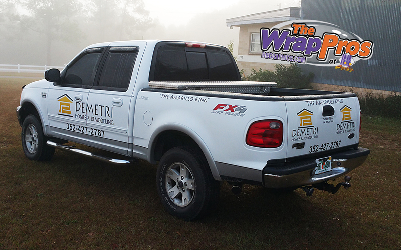 Demetri Homes Truck Bb Graphics Amp The Wrap Pros