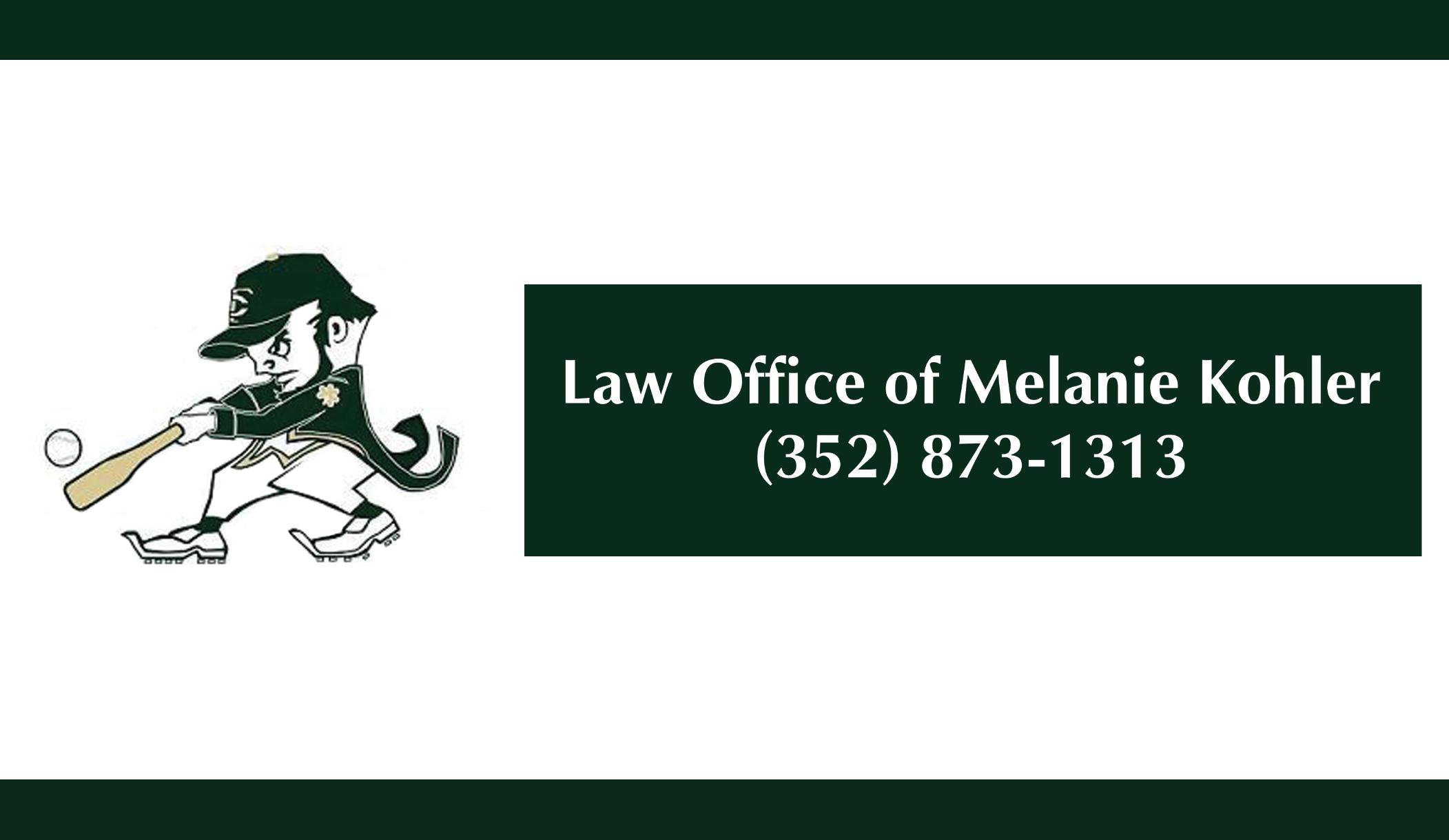 TCHS Law Office of Melanie Kohler 2014 Sponsor Banner | BB Graphics ...