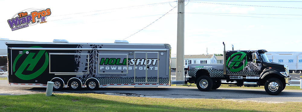 Hole Shot Power Sports Bb Graphics Amp The Wrap Pros