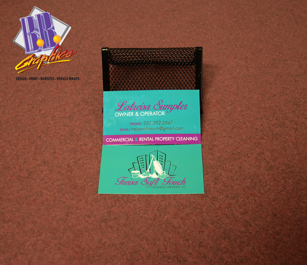 latreisa soft touch business cards - Soft Touch Business Cards