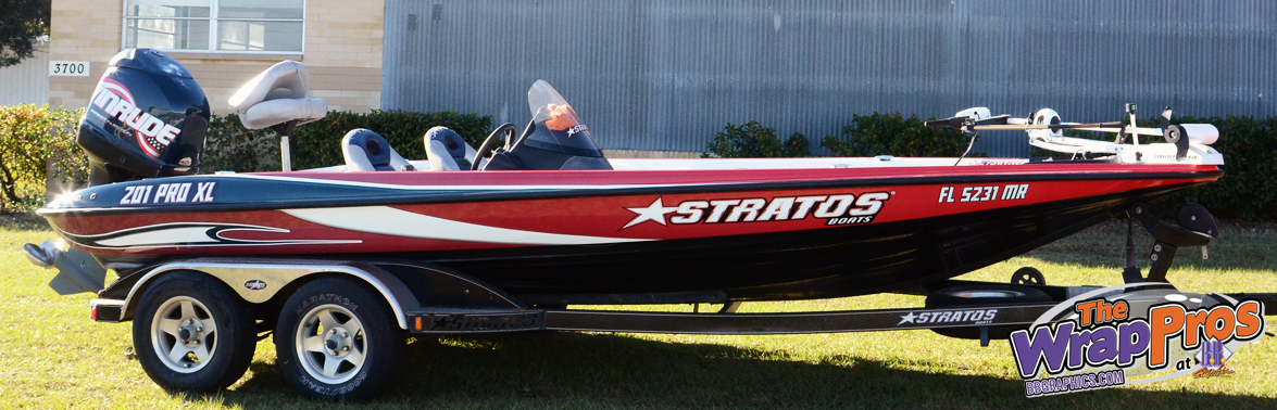 Stratos Boat Bb Graphics Amp The Wrap Pros