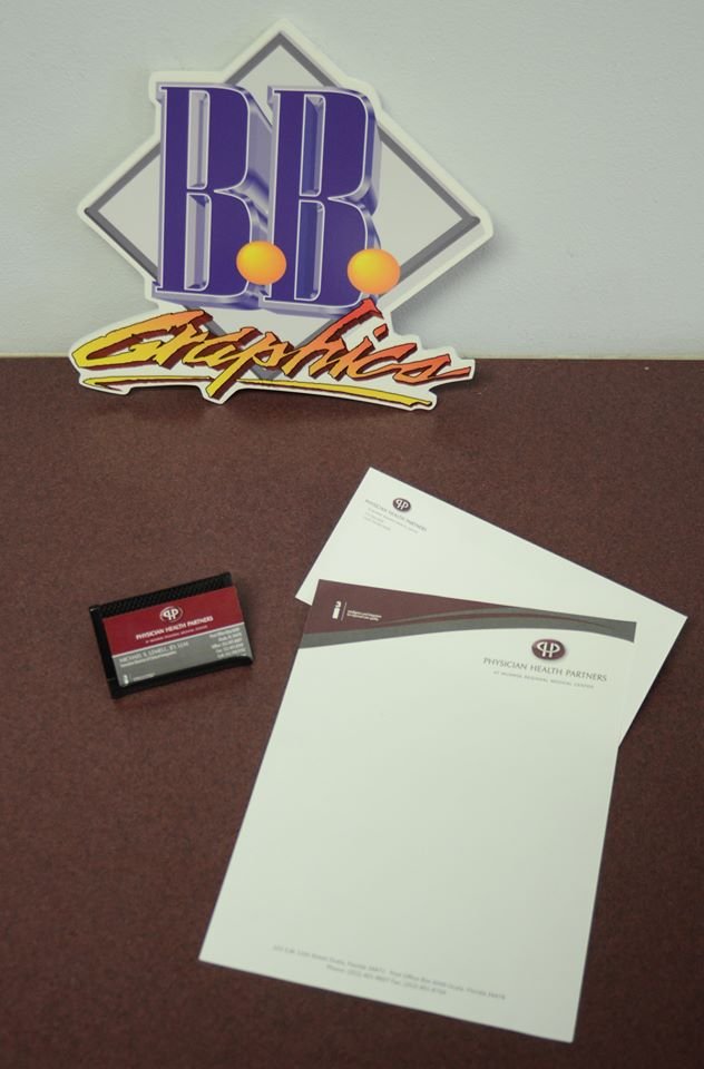 PHP Letterhead/Envelope/Business Cards | BB Graphics & The Wrap Pros