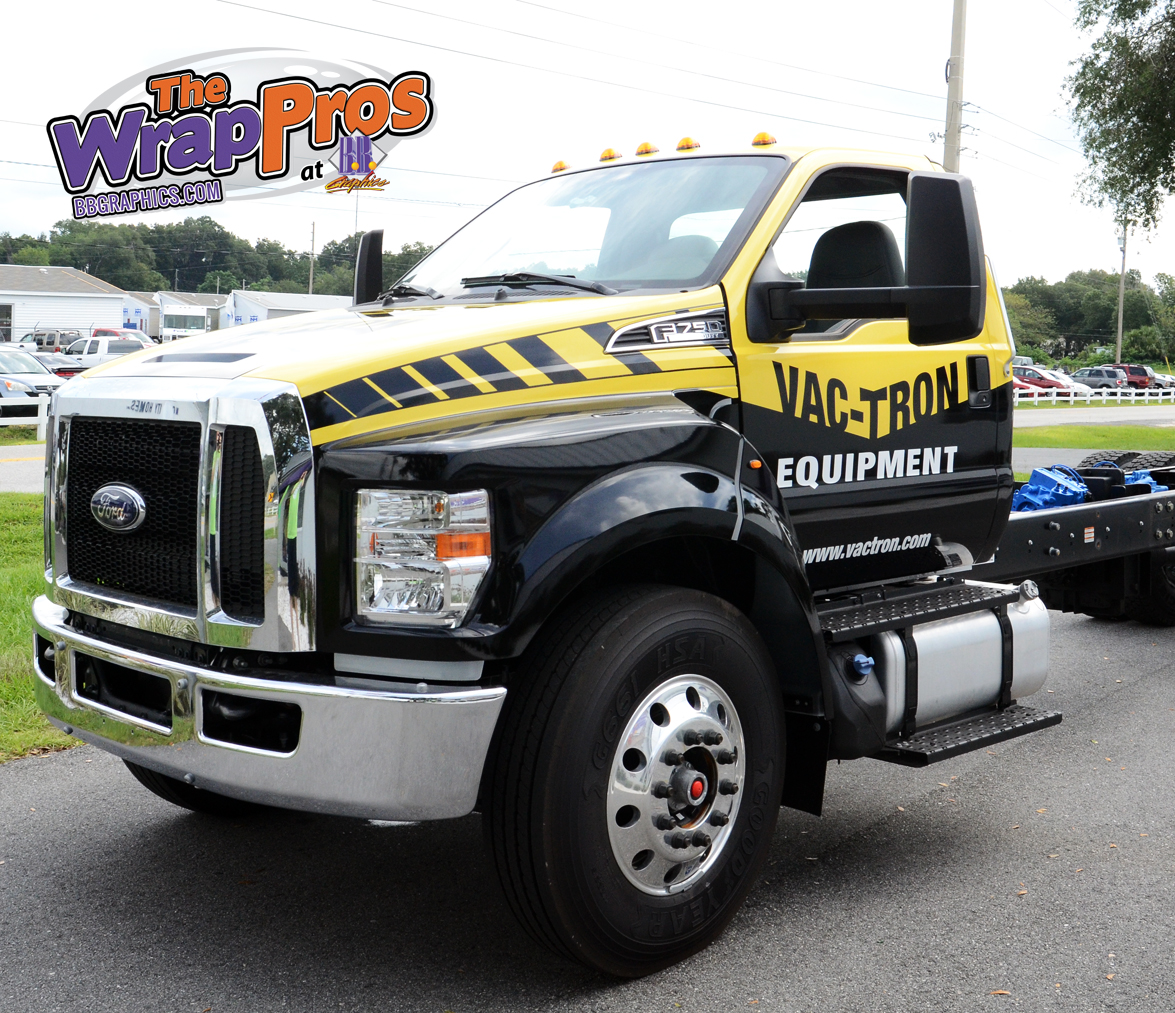 Vac Tron Truck Bb Graphics Amp The Wrap Pros