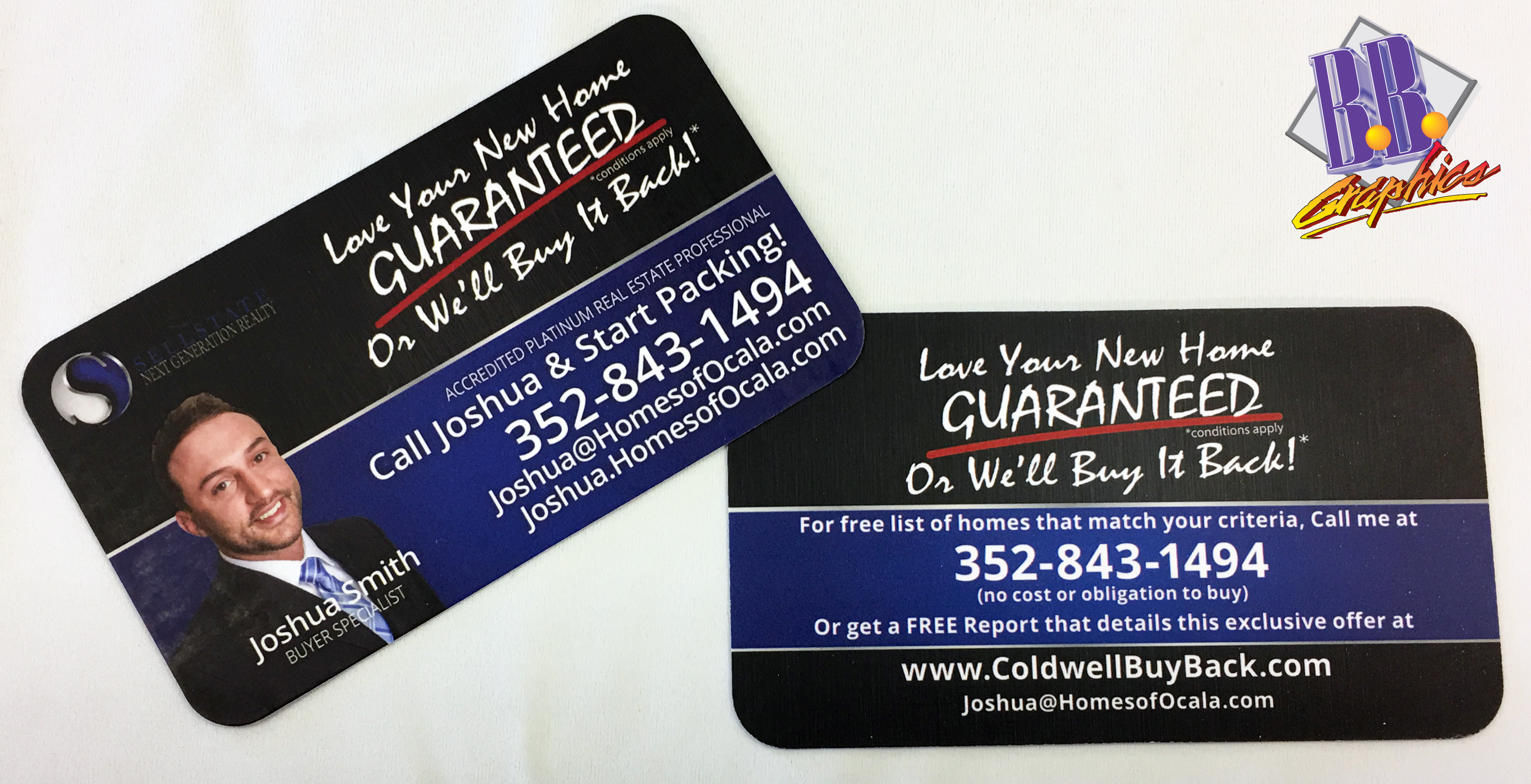 Sellerstate Realty Business Cards | BB Graphics & The Wrap Pros