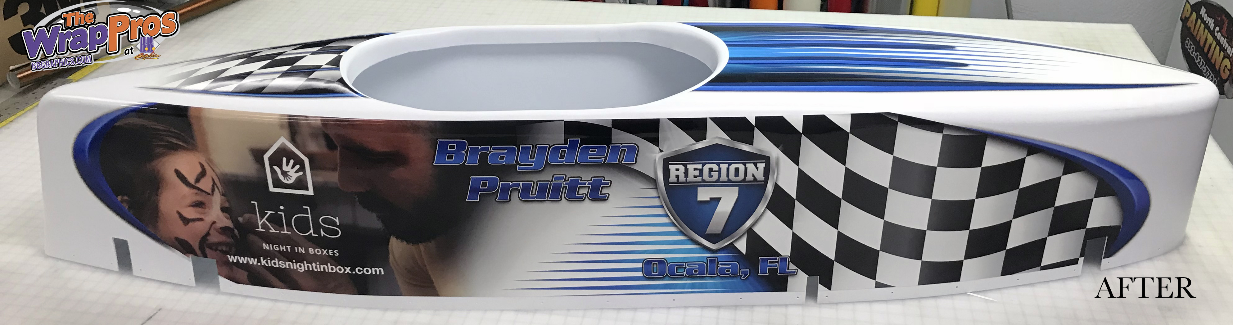 Soap Box Derby Car Bb Graphics Amp The Wrap Pros
