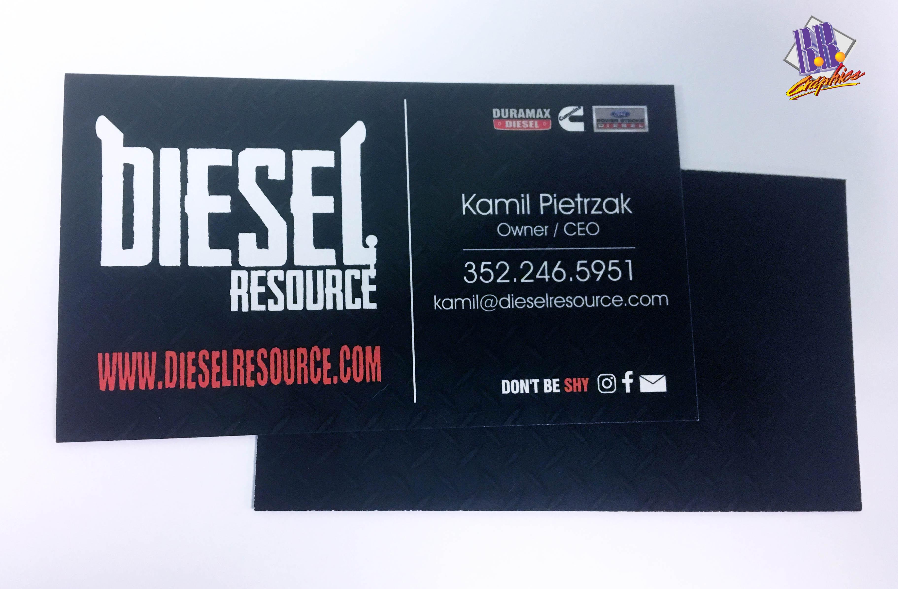 Resource of Diesel