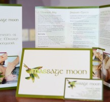 Massage Moon Stationery Package