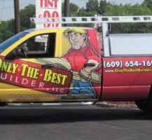 Only The Best Builder Truck