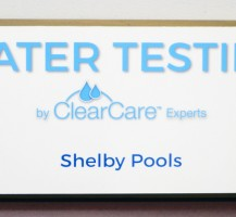 Water Testing Sign