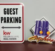 Keller Williams Parking Sign