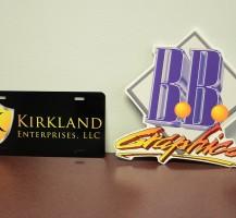 Kirkland License Plate