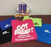 Bread Breakers T-shirts