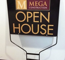 Mega Construction Sign