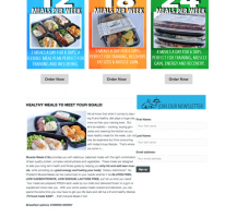 Muscle Meals to Go Website