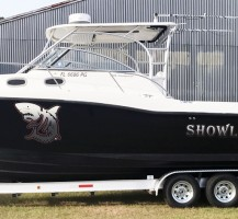 Showley Knot boat