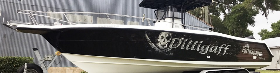 Dilligaff Boat Bb Graphics Amp The Wrap Pros