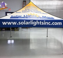 Solar Lights & More Tent