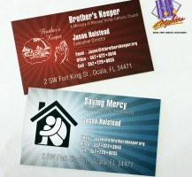 Brother's Keepers Business Card