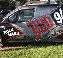 BUD 94.1 Radio Station Van