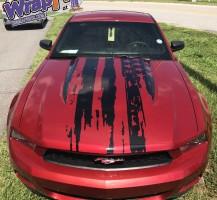 Mustang Hood – Flag Design