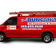 Bill Duncans Air Conditioning and Heating Van
