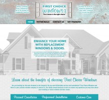 First Choice Windows Website