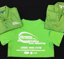 Green HVAC Shirts