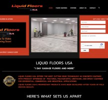 Liquid Floors Website