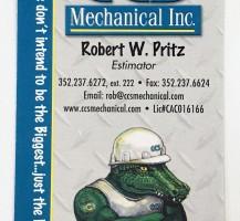 CCS Mechanical Business Card