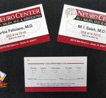 Neuro Center Business Cards