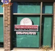 Neuro Center Window Graphics