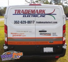 Trademark Electric Van Back