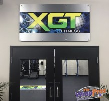 Zone XGT Sign