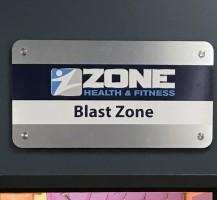 Zone Interior Signage