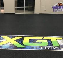 Zone XGT Floor Decal