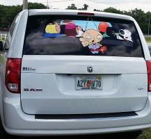 Family Guy Back Window