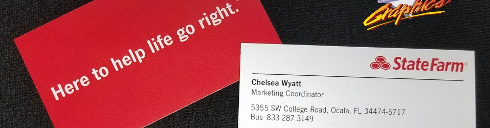 State farm business cards bb graphics the wrap pros state farm business cards colourmoves