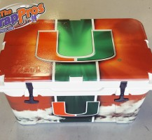 Miami Hurricanes Yeti Cooler