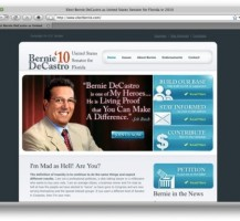 Bernie DeCastro Website