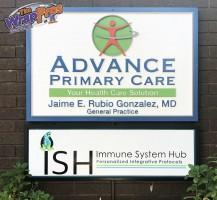 Immune System Hub Sign