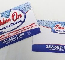 Shine On Business Cards
