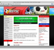 Big Sun Youth Soccer Website