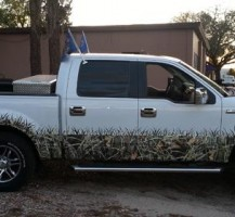 Camouflage Partial Wrap