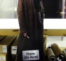 Doctor Who Inspired PVC Cutout